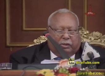 Girma W/Georgies - Making Fun in his Speech in the Parliament