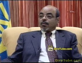 Ethiopian News - PM Meles Full Interview with ERTA on the Nile Dam Part 1