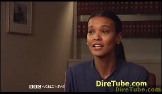 Talking Movies - Liya Kebede's Desert Flower on BBC World News