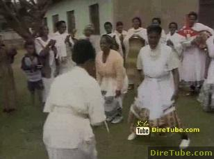 Happy Meskel - Antroched and Astero(Nekuwa) Gurage's Tradition