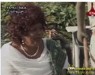 Amhara TV - Interview with Artist Almaz Haile