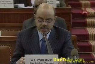 Ethiopian News - PM Meles Addressing the Parliament - April 05, 2011 - Part 1